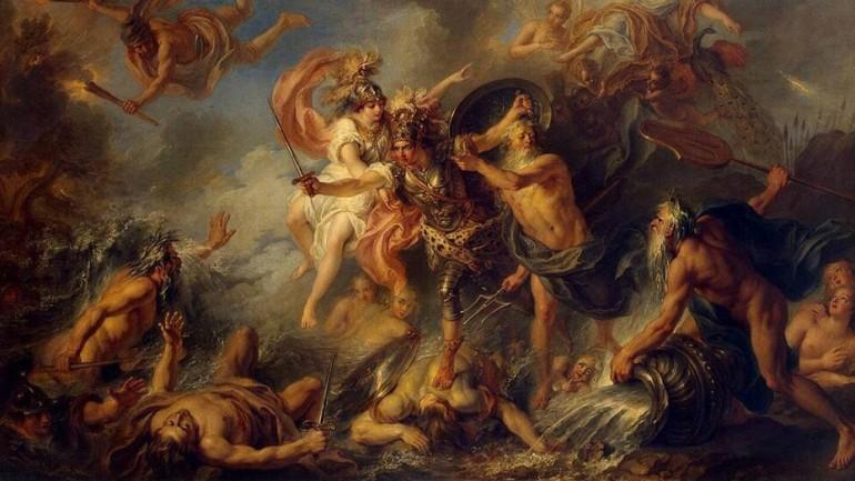 Charles-Antoine-Coypel-La Furia di Achille 1737