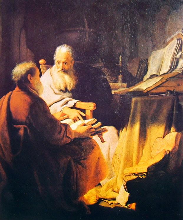 Colloquio di Sapienti, Rembrenadt 1628