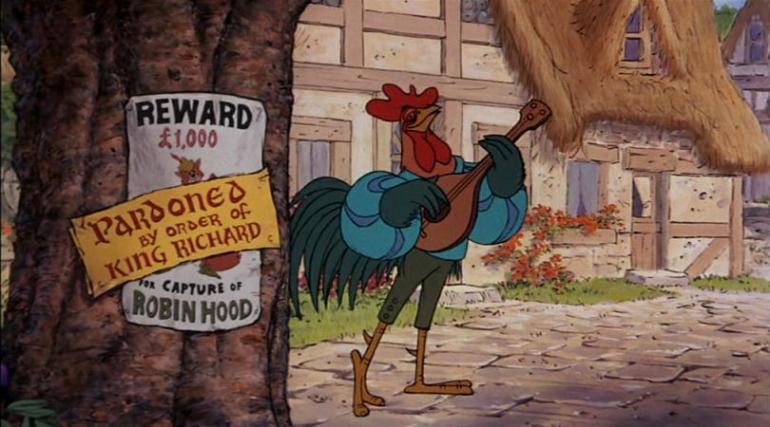 il Menestrello di Robin Hood - Walt Disney - 1973