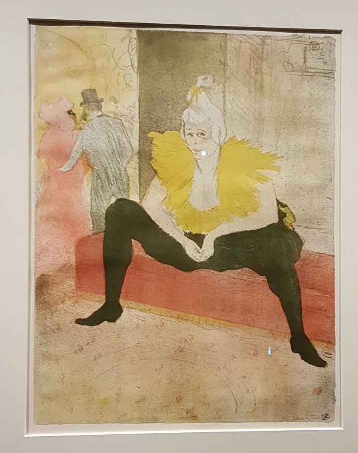 La Clownesse assise, Mademoiselle Cha-u-Kao, 1896