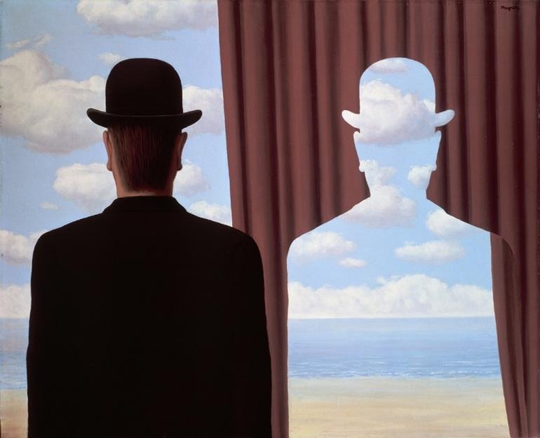 Magritte La décalcomanie 1966