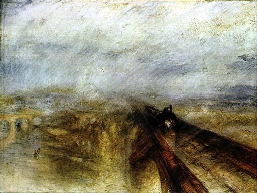 Pioggia, vapore e velocità - William Turner 1844