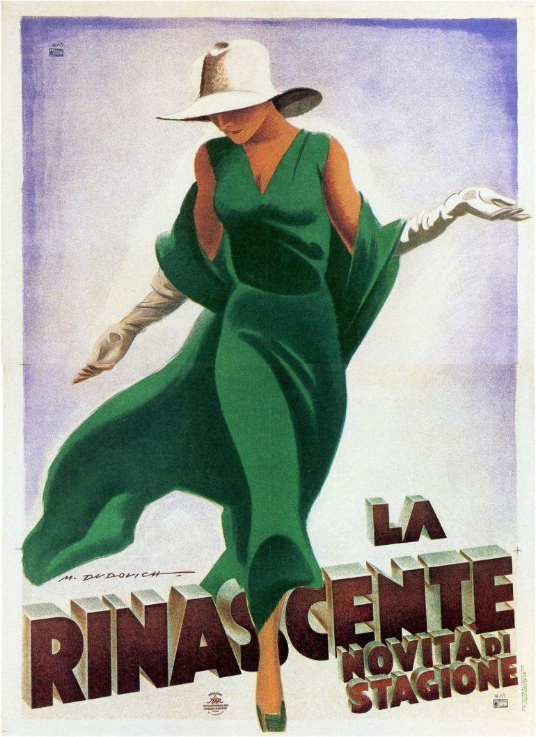 Poster La Rinascente 1931