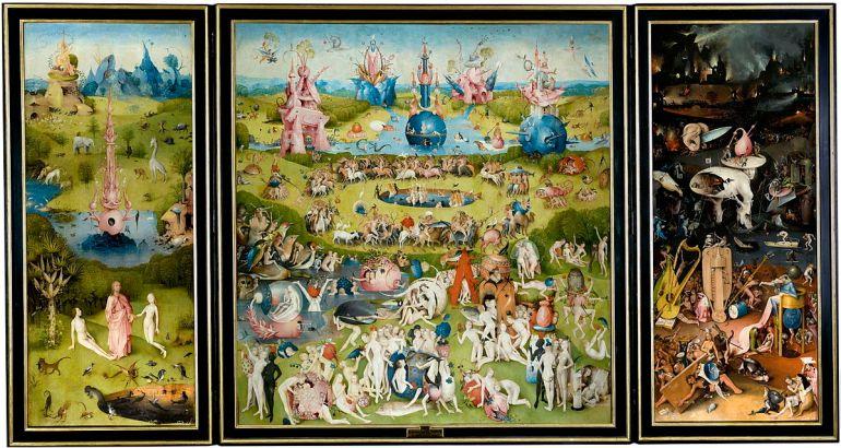 TRITTICO DEL GIARDINO DELLE DELIZIE - Hieronimus Bosh - 1480-1490