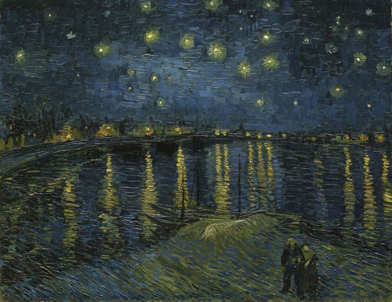 "Vincent van Gogh ""Starry Night"" 1888"
