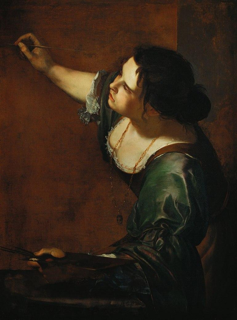 Artemisia Gentileschi - Autoritratto come allegoria della Pittura (1638-1639)
