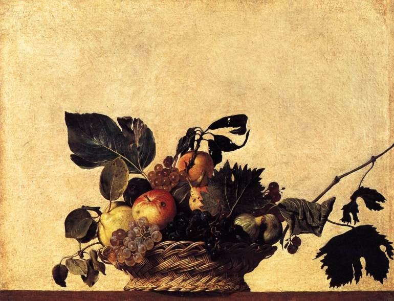 Canestro di Frutta - Caravaggio - 1596