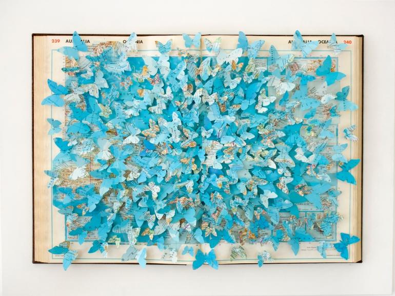 Fiumi, Laghi, Mari e Oceani, 53x70,5 cm, 2017