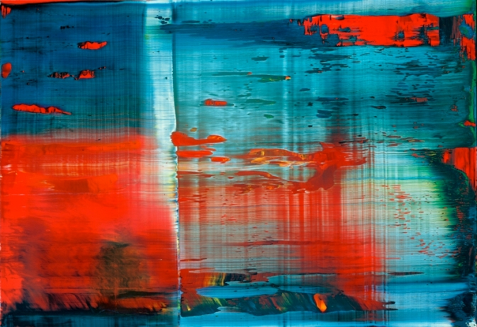 Gerhard Richter Abstract painting 1999