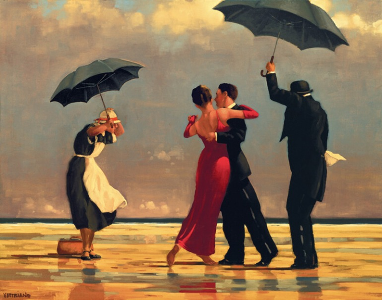 Jack Vettriano 1951 The Singing Butler
