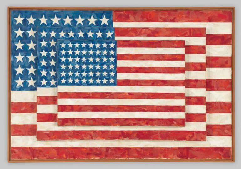 Jasper Johns Three Flag 1958