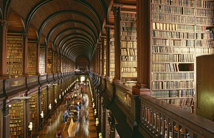 La Biblioteca del Trinity College – Dublino, Irlanda