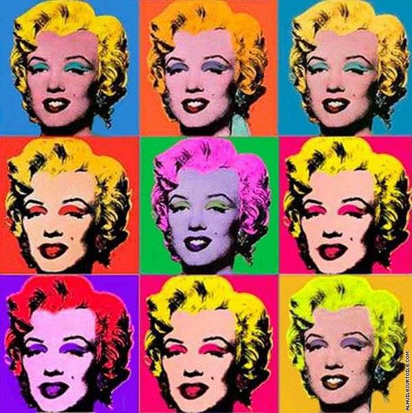 Marilyn Monroe - Andy Warhol - 1962 - Trovato su Google da pinterest