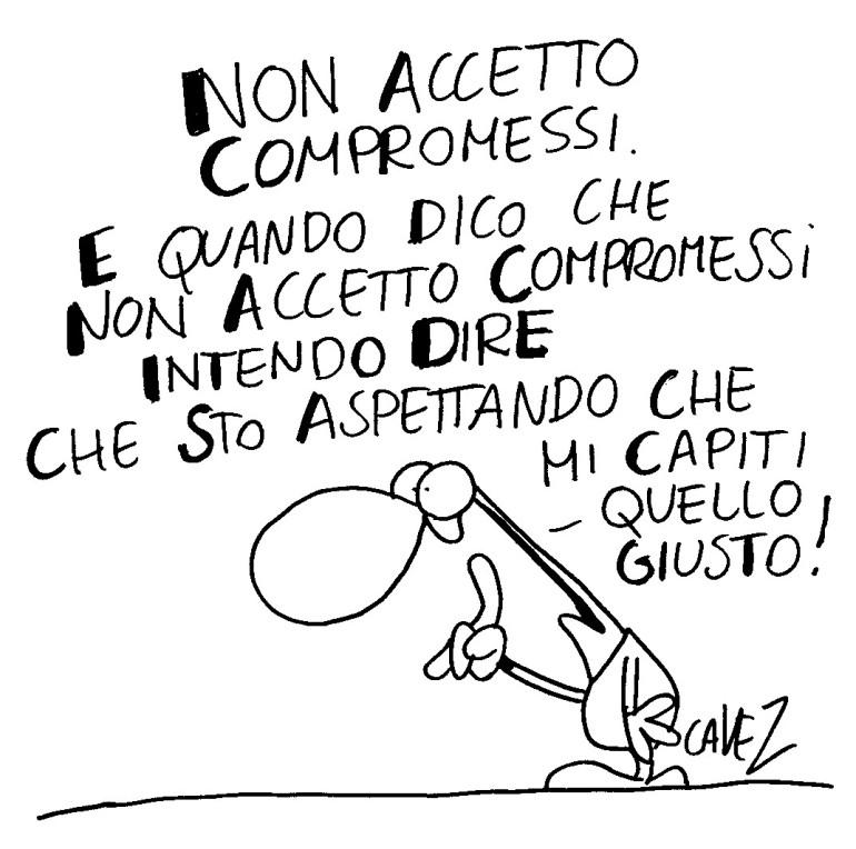non accetto compromessi... Massimo Cavezzali