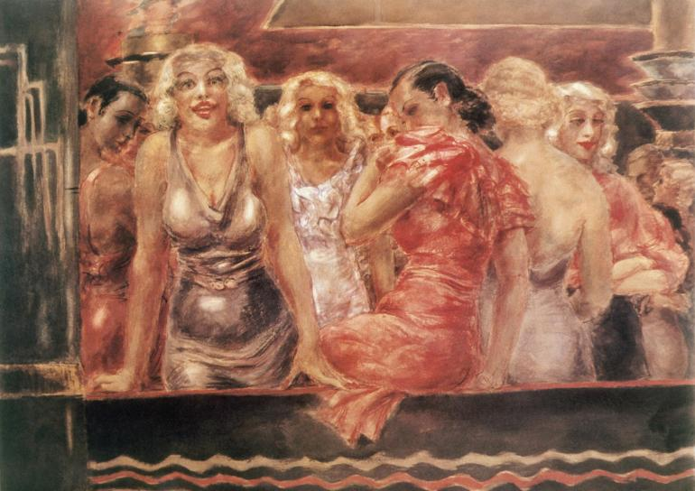 Reginald Marsh - Ten Cents a Dance, 1933