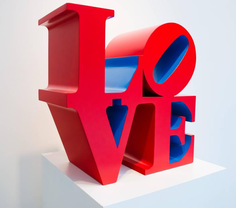 Robert Indiana Love Red - 1966-1995