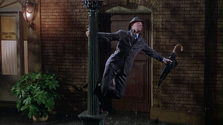 Singin' in the Rain (1952) directed by Stanley Donen, Gene Kelly