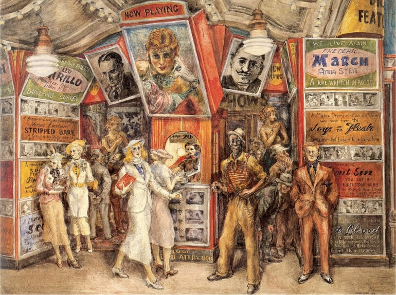 Twenty Cent Movie Reginald Marsh 1936