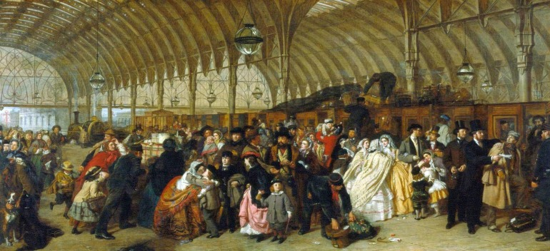 William Powell Frith - La Stazione Ferroviaria - 1862