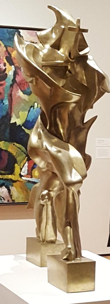 """Umberto Boccioni """"Forme uniche della continuità nello spazio"""" - Bronzo - 1913 - diritti riservati, pic by CP, New York"""