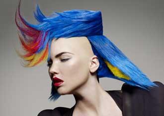 Arte nei capelli - da La Stampa - 2011