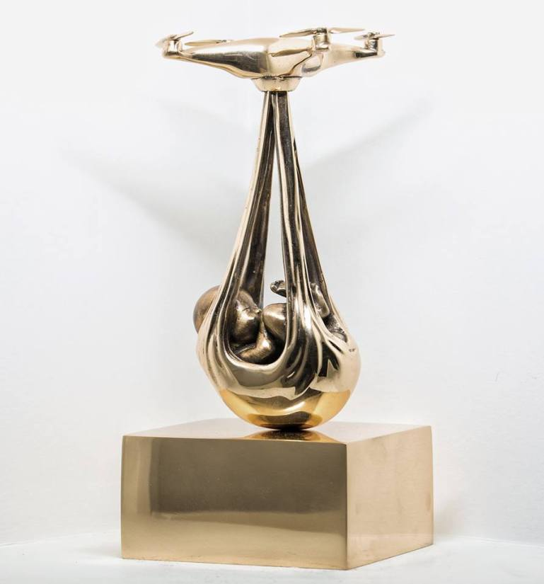 "Federico Clapis ""Babydorne (Bronze)"""