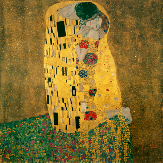 """Il bacio"" Gustav Klimt - 1907-1908 - da Arteworld"