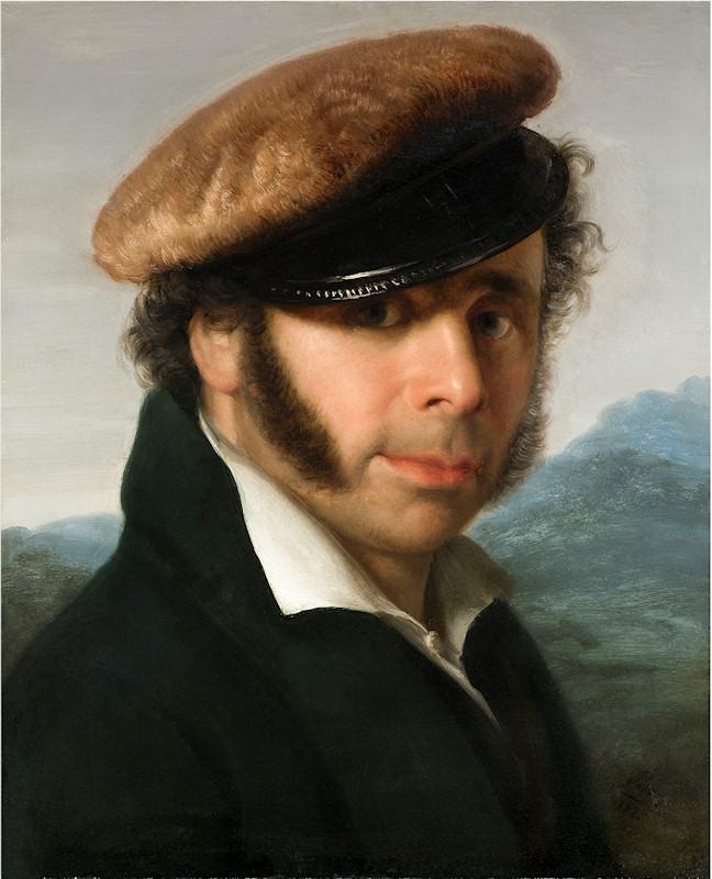 Giovanni Carnovali, Ritratto di Pietro Ronzoni, 1825 - da Wikipedia