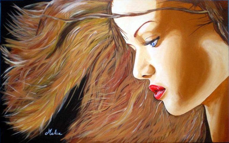 MALICE - Titolo - Con il vento tra i capelli - da ioarte.org - in vendita a 1800€