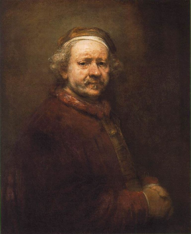 Rembrandt - Self-Portrait 1669