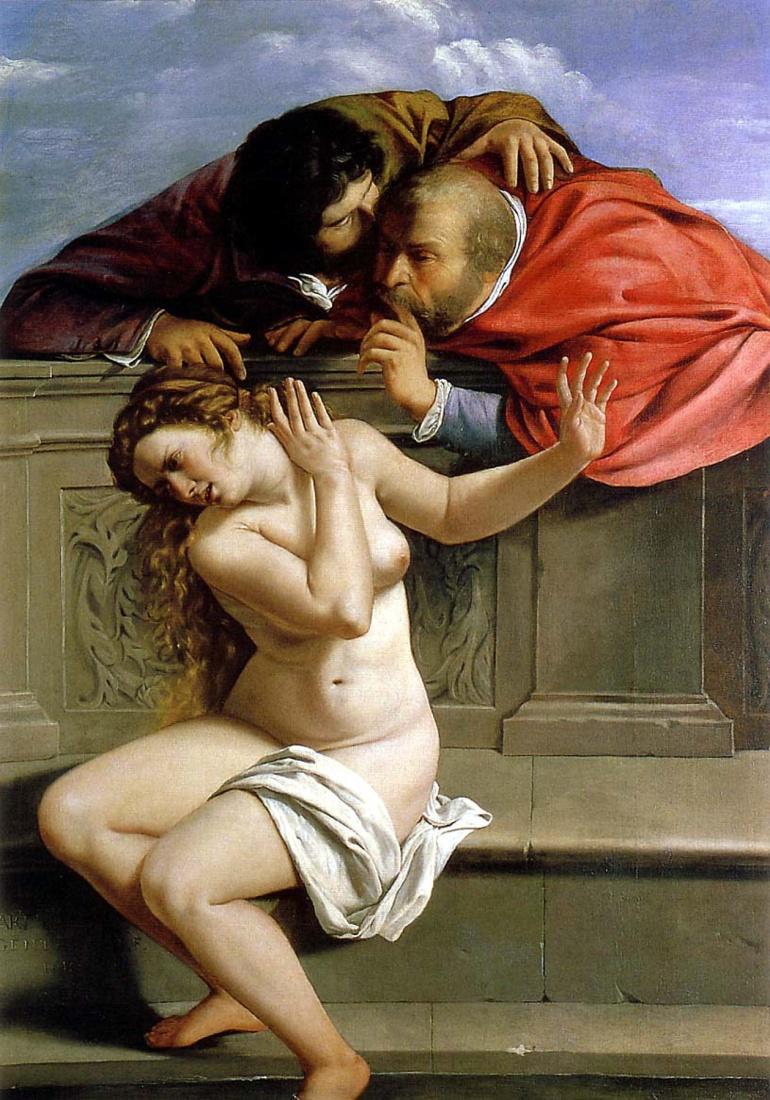 Susanna_and_the_Elders_(1610),_Artemisia_Gentileschi - Artemisia Gentileschi, Susanna e i vecchioni (1610 circa)