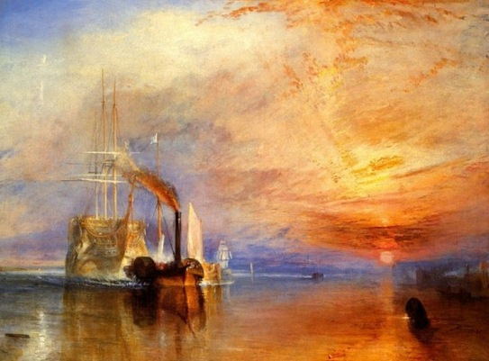 THE FIGHTING TEMERARIE di Joseph Mallord William Turner (1839) - libreriamo.it