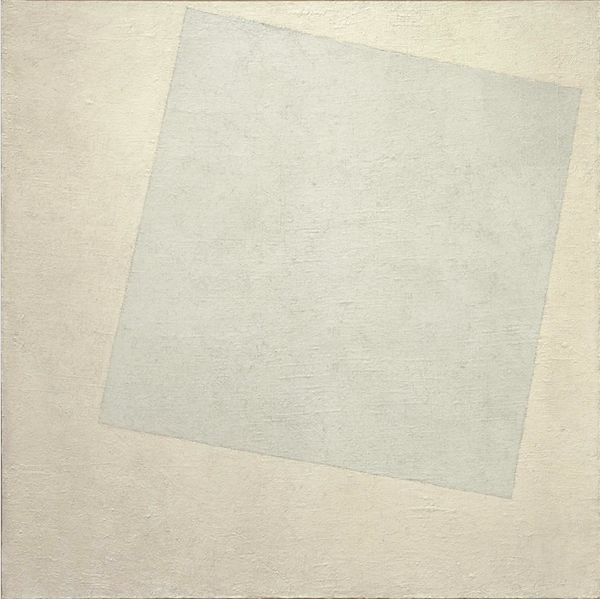 White on White, Kazimir Malevich (1918) - MoMA - da ilpost.it