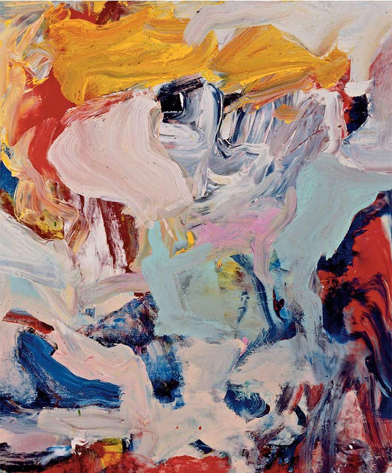 Willem de Kooning, Paintings 1975 – 1978