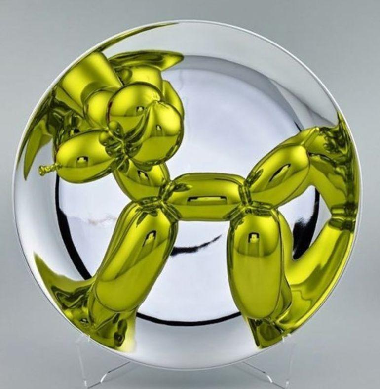 Yellow Balloon Dog -2015 - da ArtPrice.com