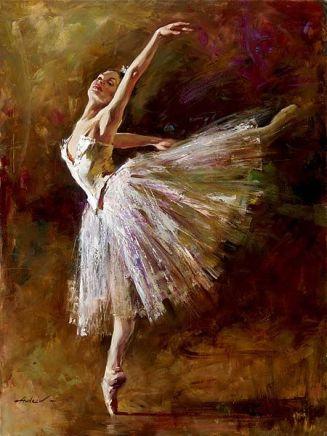 Andrew Atroshenko, Ballerina, 1995 - da Roger Yost Gallery