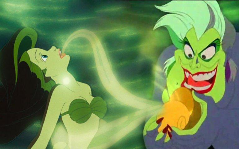 Ariel e Ursula - da La Sirenetta