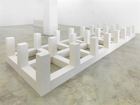 Carl Andre, Outer Piece, 1983 - da Artnet