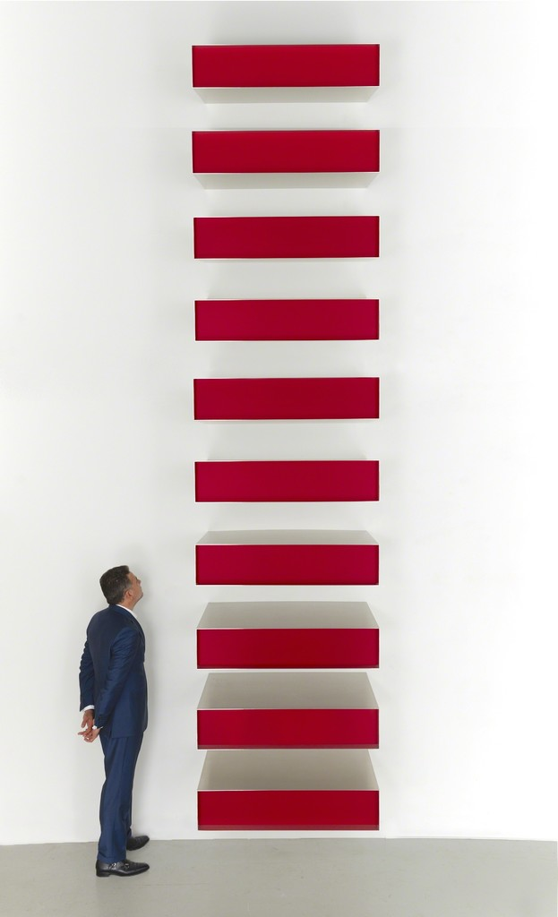 Donald Judd, Untitled, 1980 - da Artsy