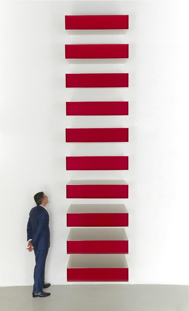 Donald Judd, Untitled, 1980 - da Artsy