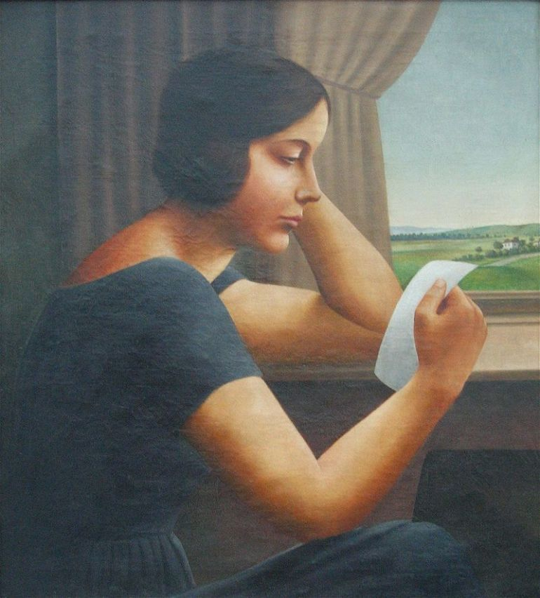 Georg Schrimpf, Martha, 1925 - da Wikipedia