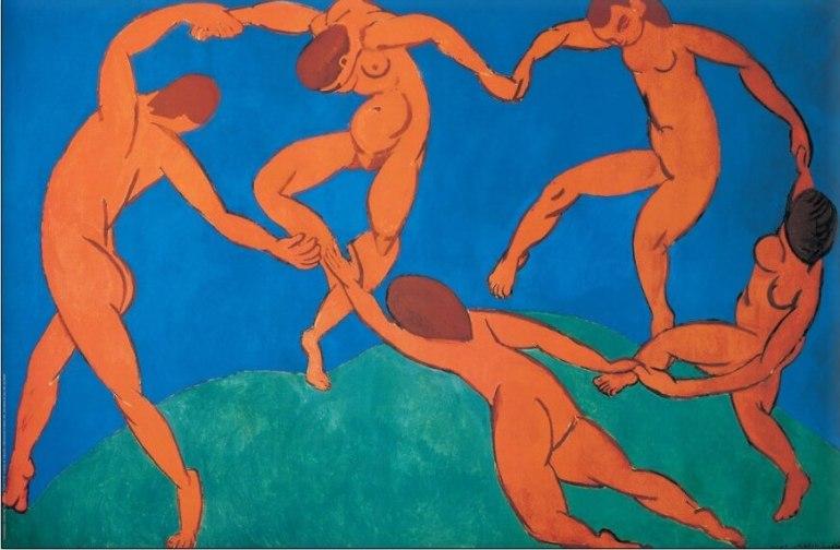 La Danza II, 1910, Henri Matisse, Hermitage-Sanpietroburgo - da ArtSpecialDay
