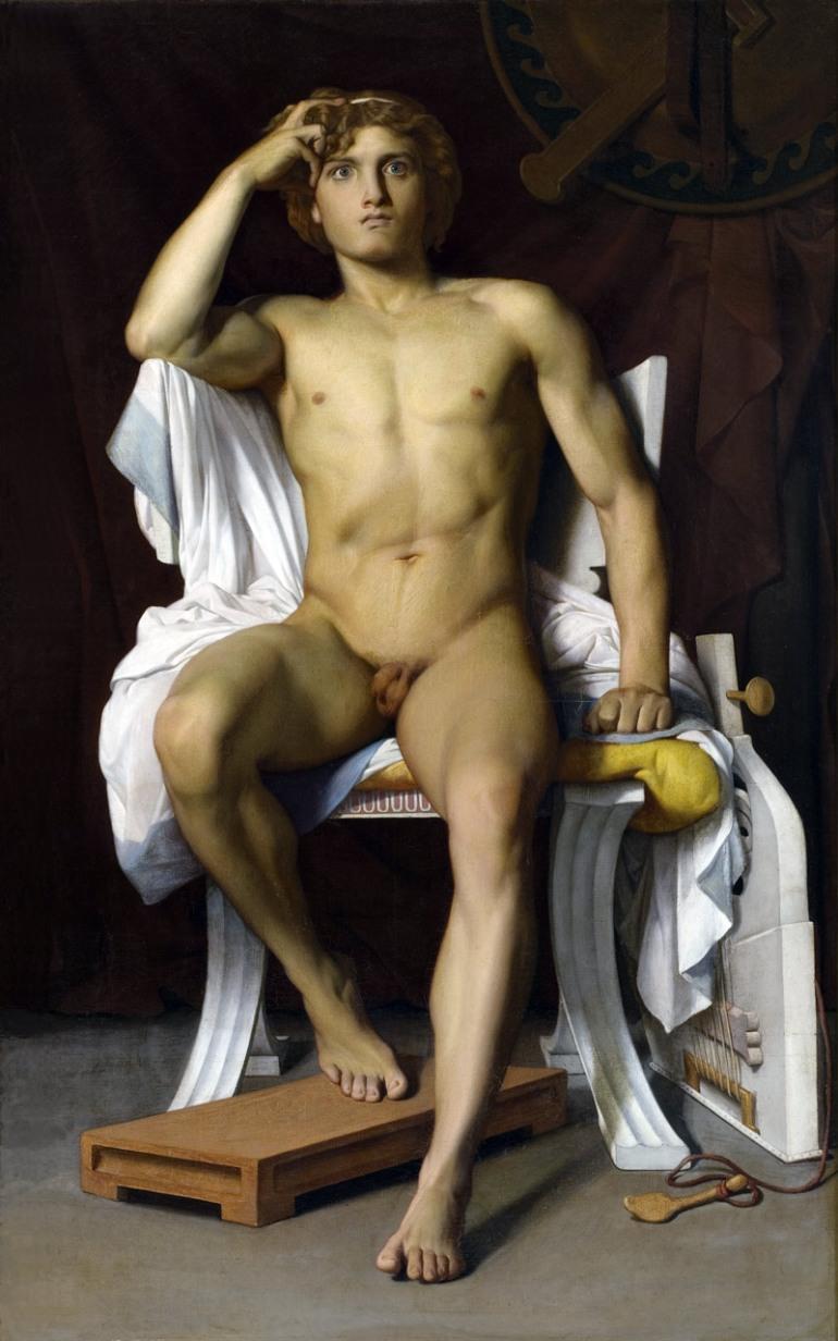 La furia di Achille, di François-Léon Benouville (1821–1859) - da Wikipedia