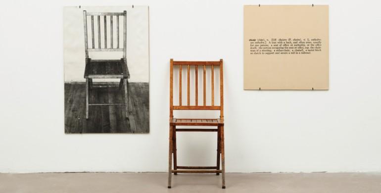 One and Three Chairs, 1965, - da Edizioni Grenelle