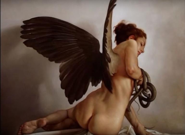 Roberto Ferri, gli angeli confusi che non sanno distinguere il Bene dal Male - da Stile Arte