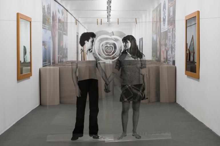 Veduta della mostra, Michelangelo Pistoletto, One and One makes Three, Evento collaterale della 57. Esposizione Internazionale d_Arte – La Biennale di Venezia - da Artribune