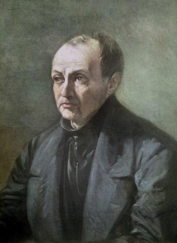 Auguste Comte (dipinto di Louis Jules Etex) - XIX sec - da Wikipedia