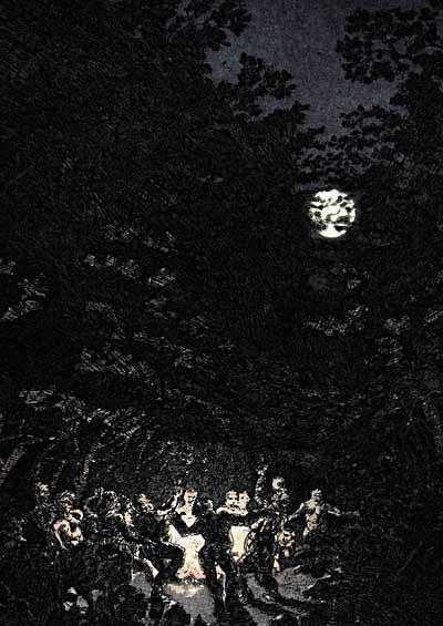 Baccanale, rito dionisiaco. - da Wikipedia