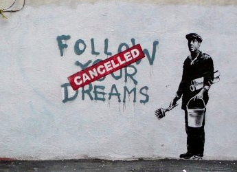 Banksy, USA, Detroit, Boston - da Autori Fanpage
