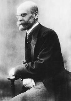 Émile Durkheim, 1916 - da Wikipedia